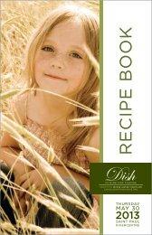 RECIPE BOOK - Second Harvest Heartland