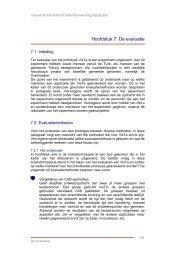 Hoofdstuk 7 De evaluatie - Ontwerp Systemen