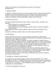 """Premio per l'urbanistica e la pianificazione territoriale """"Luigi Piccinato"""""""