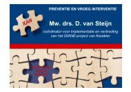 Mw. drs. D. van Steijn - RINO Groep