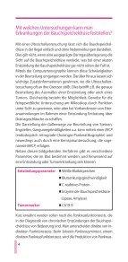 Die Bauchspeicheldrüse und ihre Erkrankungen - Gastro Liga - Page 4