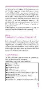 Die Bauchspeicheldrüse und ihre Erkrankungen - Gastro Liga - Page 5