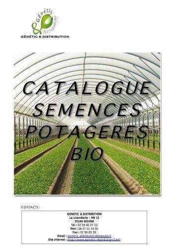 semences biologiques - genetic et distribution