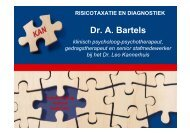 Dr. A. Bartels - RINO Groep