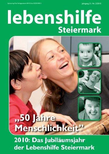 lebenshilfe_03_09 (Page 1) - Lebenshilfe Steiermark