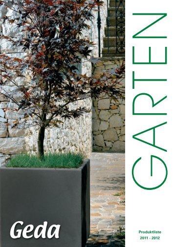 Pflanztöpfe - Geda-Produkte für Haus  und Garten GmbH