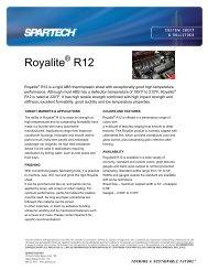 Royalite R12 - Spartech Corporation