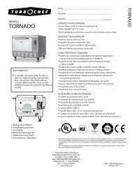 TORNAdO® - Turbochef