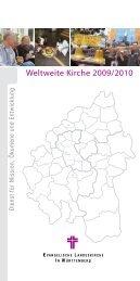 Weltweite Kirche 2009/2010 - Dienst für Mission, Ökumene und ...