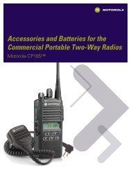 CP185 Radio Accessories - (898 KB PDF) - MyRadioMall