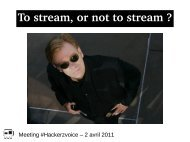 To stream, or not to stream ?