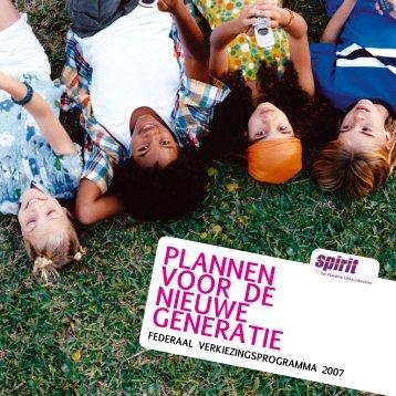 Plannen voor de nieuwe Generatie - Vrouwenraad