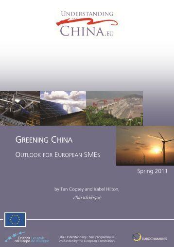 GREENING CHINA - Amazon S3
