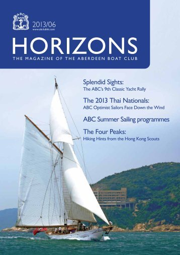 June 2013 Issue - the Aberdeen Boat Club