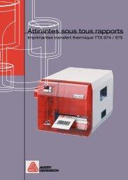 Brochure TTX 67x Français