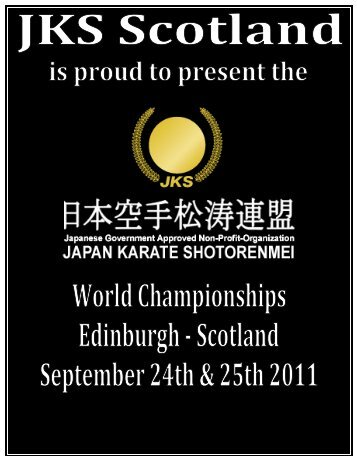 Japan Karate Shotorenmei - JKS Karate Netherlands
