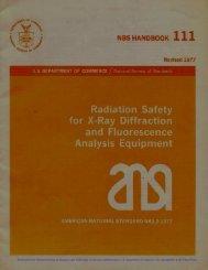 National Bureau of Standards Handbook 111