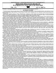 DODATEK SPECJALNY DO NR 179 - Wici Polskie