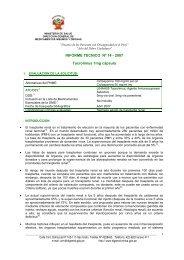 INFORME TECNICO Nº 14 - 2007 Tacrolimus 1mg cápsula
