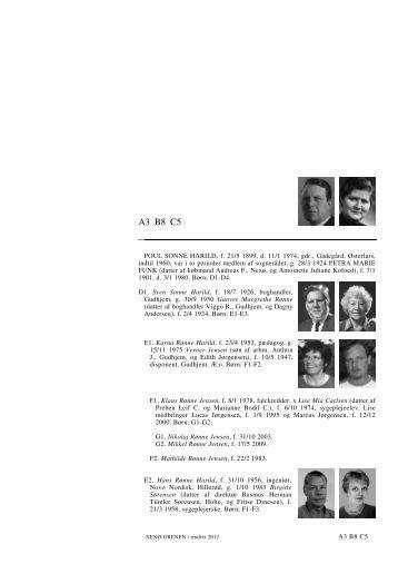 A3 B8 C5 A3 B8 C5 - Lauegaardsfamilien