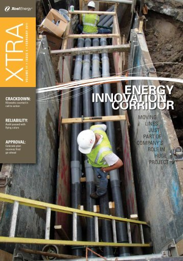 February 2011 - Volume 11 - Issue 4 - Xcel Energy