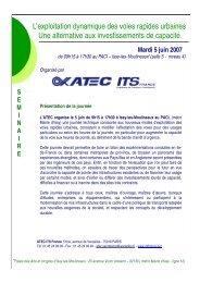 PREPROGRAMME JT VDYNA - Atec/ITS France