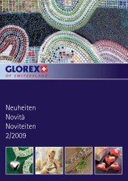 Neuheiten Novità Noviteiten 2/2009 - Glorex