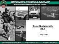 defense logistics agency defense logistics agency