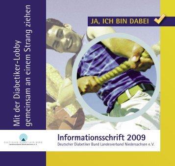 Informationsschrift 2009 - Deutscher Diabetiker Bund ...