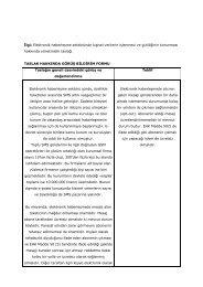 İlgi: Elektronik haberleşme sektöründe kişisel verilerin işlenmesi ve ...