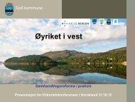 Samhandlingsreforma - Fjell kommune (pdf)