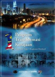 Pelan Hala Tuju Program Transformasi Kerajaan