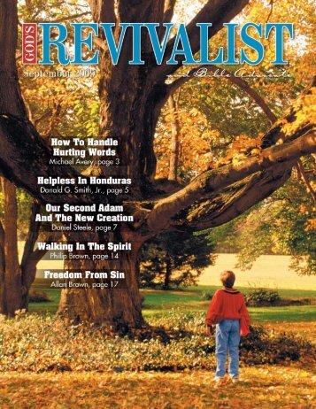 revivalist PDF template - God's Bible School & College
