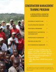 conservation management training program - African Wildlife ... - Page 2