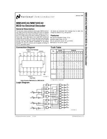 BCD TO 7-SEGMENT DECODER SN54/74LS48