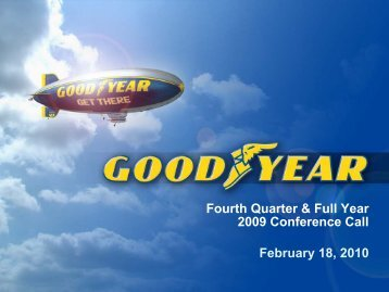 The Goodyear Tire & Rubbe - Rational Investing