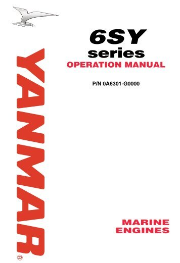 6SY series OPERATION MANUAL - MARX