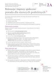 2A - Seniors Information Service
