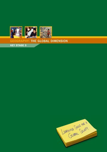THE GLOBAL DIMENSION - Geographical Association