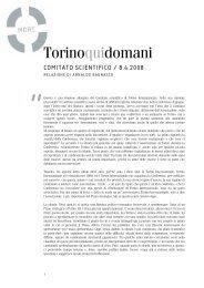 Torinoquidomani - Torino Strategica