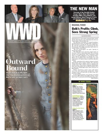 Outward Bound - WWD.com