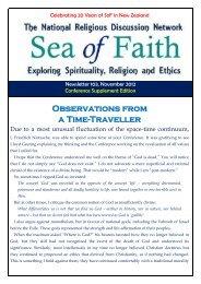 103: November 2012 - Sea of Faith Network New Zealand