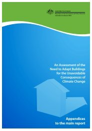 An Assessment of the Need to Adapt Buildings for the Unavoidable ...