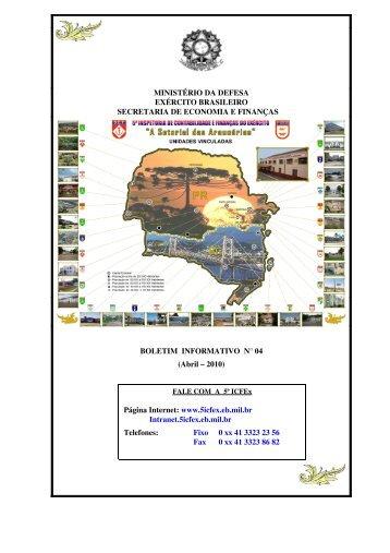 BInfo - 04 - 5ª ICFEx - Exército Brasileiro
