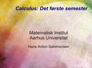 Slides (pdf) - Aarhus Universitet