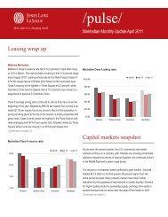 Leasing wrap up Capital markets snapshot - Jones Lang LaSalle