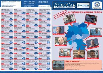 OLDUÄžUMUZU ALMANYA BÄ°LÄ°YOR - Eurocar Landshut