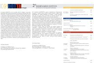 2° Seminario OSDOTTA - Corso di Dottorato in Tecnologia dell ...