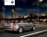 Freude am Fahren Das neue BMW 1er Cabrio 120i 125i
