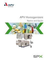 APV Homogenizers - Key Industrial